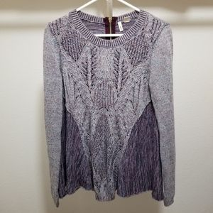 Anthropologie MOTH Sweater Tunic Knit Linen Blend